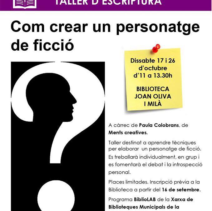 COM CREAR UN PERSONATGE DE FICCIÓ