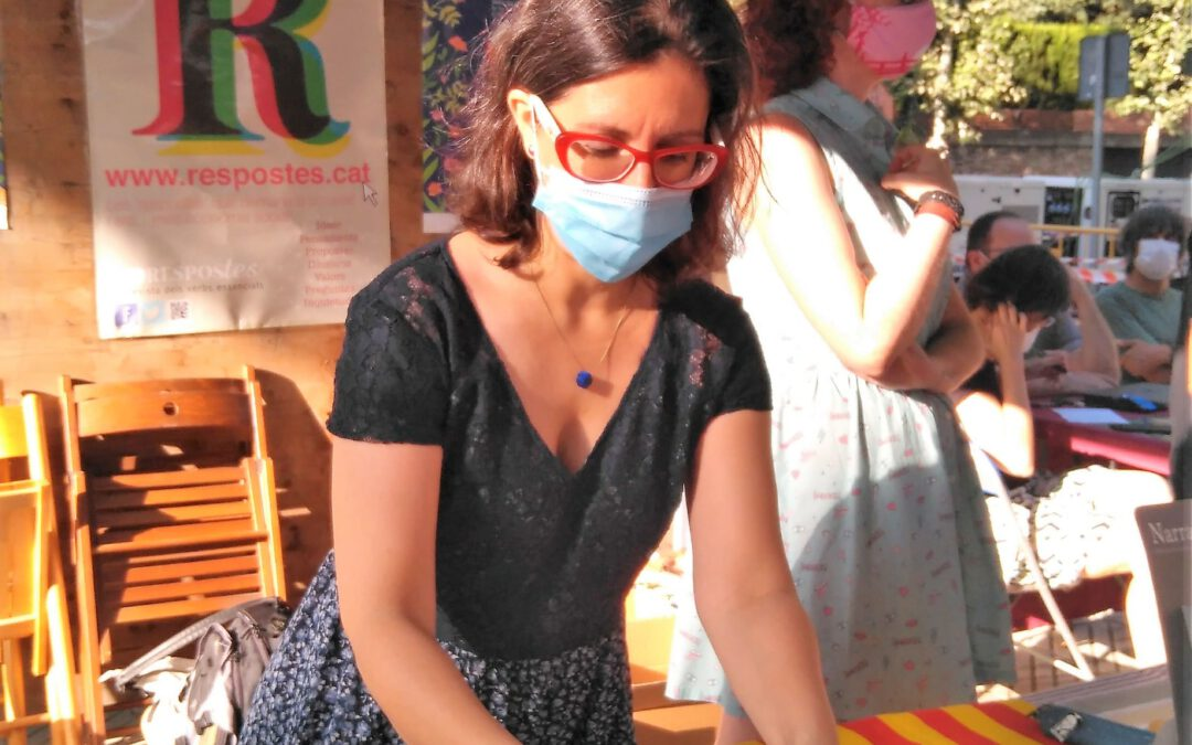 Blanca y Elisa: Nit de Llibres i Flors 2020