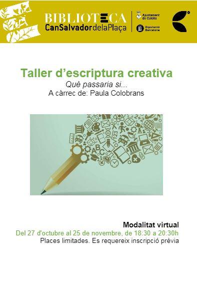 ESCRITURA CREATIVA (virtual)