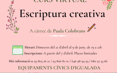 Escritura Creativa en primavera (virtual)
