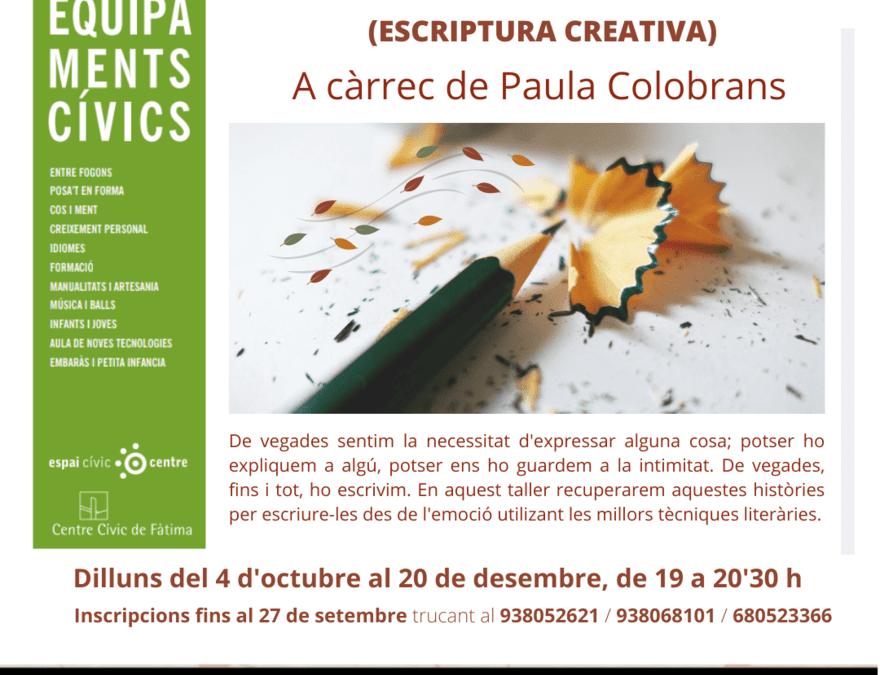 Taller dels Records, escriptura creativa a Igualada